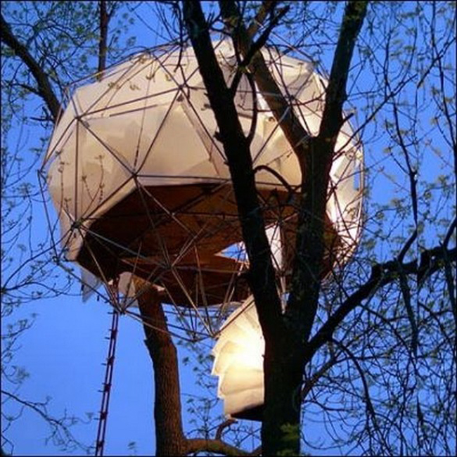 Дом на дереве проект